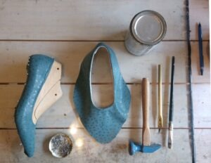 Proceso de armado artesanal de calzado - como se fabrica un zapato